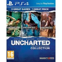 Uncharted The Nathan Drake Collection CZ (PS4)