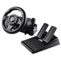 Tracer Steering Wheel Drifter sada volantu a pedálů pro PC a PS3 / vibrace / USB (TRAJOY34009) (PC)
