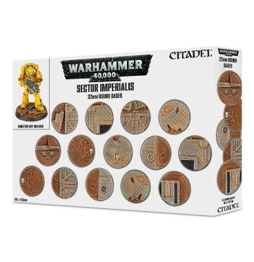 Warhammer 40.000: Sector Imperialis 32mm Round Bases