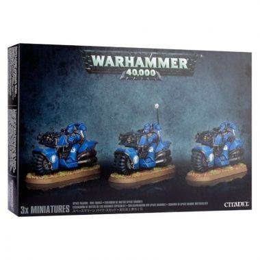 Warhammer 40.000: Space Marine Bike Squad