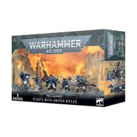 Warhammer 40.000: Space Marine Scouts with Sniper Rifles