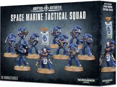 Warhammer 40.000: Space Marine Tactical Squad
