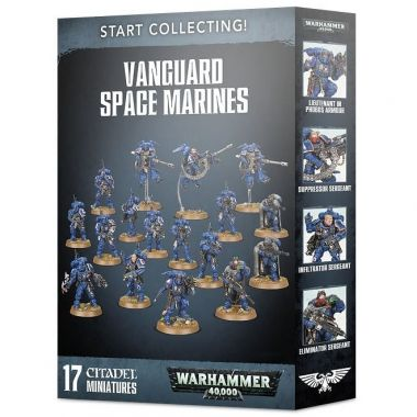 Warhammer 40000: Start Collecting! Vanguard Space Marines