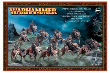 Warhammer: Age of Sigmar - Dire Wolves