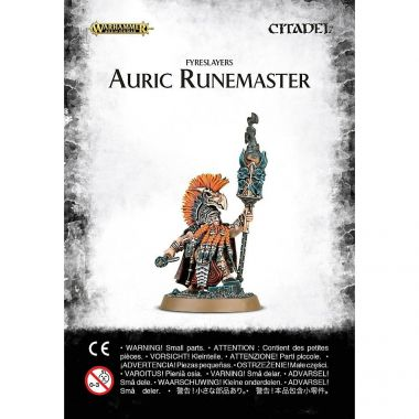 Warhammer: Age of Sigmar - Fyreslayers Auric Runemaster