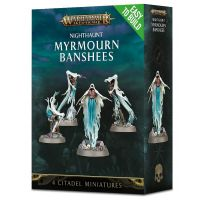 Warhammer Age of Sigmar - Nighthaunt Myrmourn Banshees (Easy to Build)