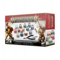 Warhammer Age of Sigmar: Paint + Tools Set