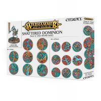 Warhammer Age of Sigmar - Shattered Dominion 25 & 32mm Round Bases