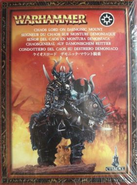 Warhammer: Age of Sigmar - Slaves to Darkness: Lord on Daemonic Mount