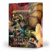 Warhammer: Age of Sigmar - Warscroll Cards: Slaves to Darkness