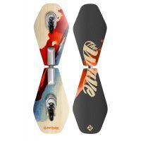 Waveboard Street Surfing WAVE RIDER Abstrakt, dřevěný