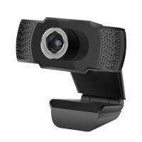 Webkamera C-TECH CAM-07HD, 720P, mikrofon, černá (PC)