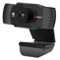 Webkamera C-Tech CAM-11FHD, 1080p, černá (CAM-11FHD) (PC)