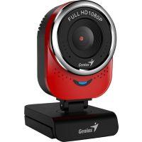 Webkamera Genius QCam 6000, Full HD 1080P, červená (32200002408) (PC)