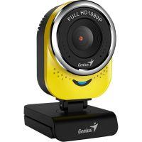 Webkamera Genius QCam 6000, Full HD 1080P, žlutá (32200002403) (PC)