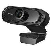 Webkamera Sandberg USB Saver 1080p, černá (333-96) (PC)