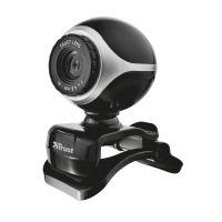 Webkamera TRUST Exis Webcam Black/Silver (PC)