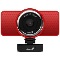 Webová kamera GENIUS ECam 8000 - červená (32200001401) (PC)