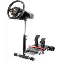 Wheel Stand Pro Black - stojan na volant a pedály pro Thrustmaster SPIDER, T80/T100,T150,F458/F430 (PC)