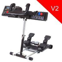 Wheel Stand Pro DELUXE V2, stojan na joystick a pedály Saitek Pro Rudder, Pro Flight Yoke System (PC)