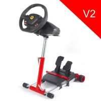 Wheel Stand Pro Red - stojan na volant a pedály pro Thrustmaster SPIDER, T80/T100,T150,F458/F430 (PC)
