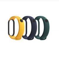 Xiaomi Mi Band 5 náhradní náramek (Blue, Yellow, Green)