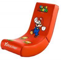 XRocker Nintendo herní židle Super Mario, červené